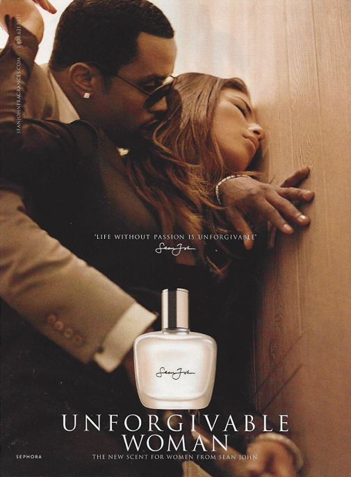 unforgivable perfume ad